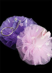 Tutu Key-rings Pink & Purple