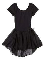 Short Sleeve Dress with attached Skirt CAPEZIO 3966C