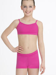 CAPEZIO Set Crop Top & Shorts Hot Pink