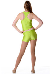 T-Back Singlet Top ADST01 Lime
