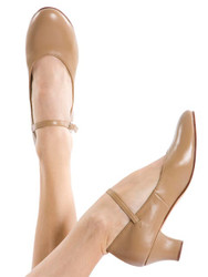 ENERGETIKS Character Sports/Chorus Heel Shoe Ladies Tan CSA03