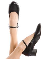 ENERGETIKS Character Shoe Cubin Heel Ladies Black