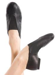 ENERGETIKS Jazz Shoe Pull On - Split Sole Adults JSA03 Black