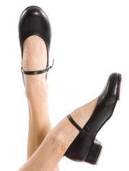 ENERGETIKS Debut Tap Shoes Girls TSA06 Black