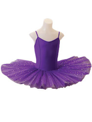 STUDIO 7 DANCEWEAR Two Tone Sparkle Tutu Dress