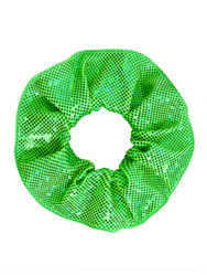 ENERGETIKS Shattered Glass Scrunchies Fluro Lime