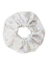 ENERGETIKS Shattered Glass Scrunchies Silver