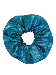 ENERGETIKS Metallic  Scrunchies Aqua