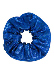 ENERGETIKS Metallic  Scrunchies Cobalt Blue