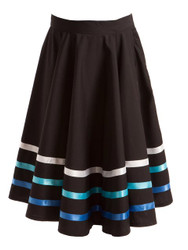 ENERGETIKS Character Skirt with Ribbon Girls Blue