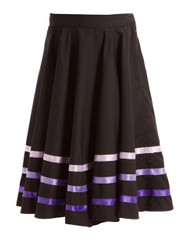 ENERGETIKS Character Skirt with Ribbon Girls Purple CS04R