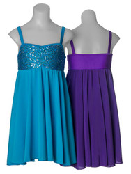 STUDIO 7 Sequin Lyrical Dress Ladies