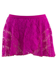 Energetiks Lace Wrap Mock Skirt Girls