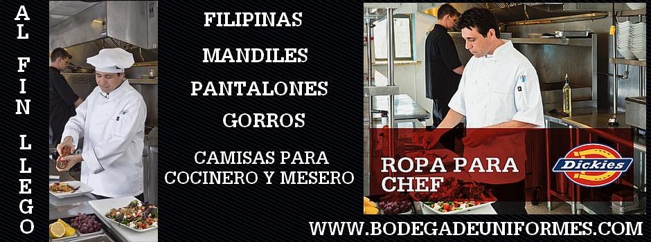 Dickies Chef en Mexico
