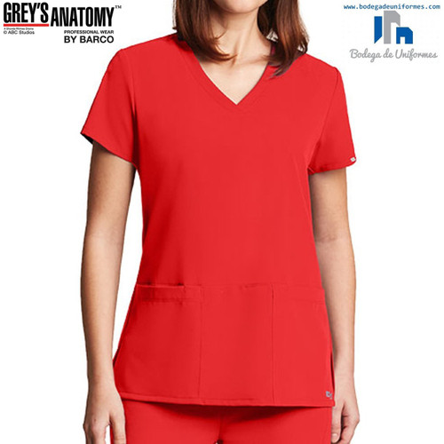 Grey's Anatomy by Barco 2115-682 Filipina Medica de Uniforme Quirurgico