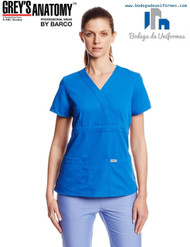 Grey's Anatomy by Barco 4153-8 Filipina Medica de Uniforme Quirurgico