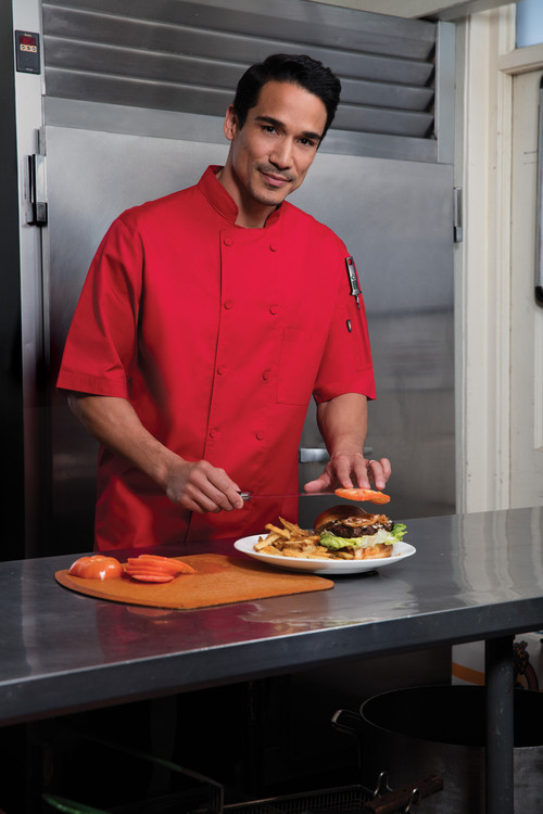 Dickies Chef DC412-RED Filipina de Chef