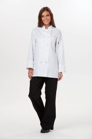 Dickies Chef DC414-WHT Filipina de Chef para Mujer