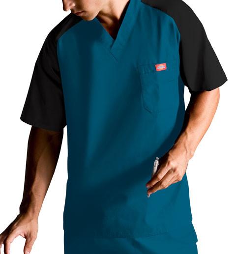 Dickies Medical 816107 Filipina de Hombre Cuello V