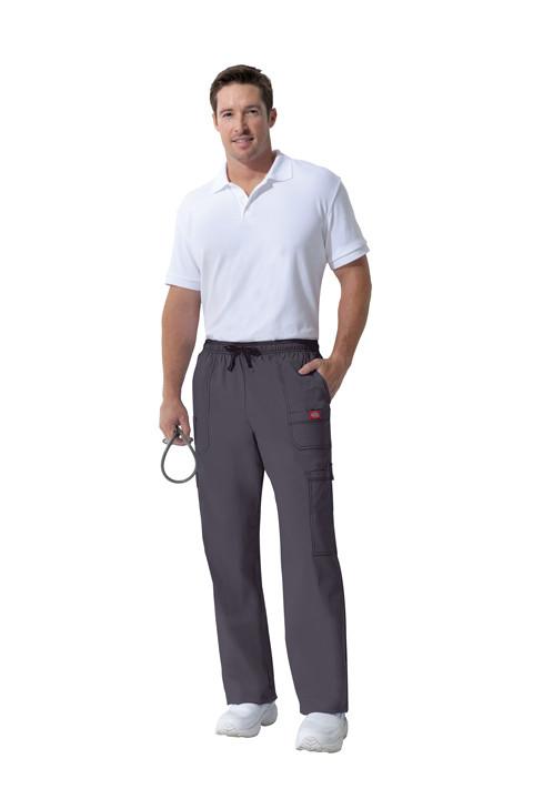 Dickies Medical 81003 Pantalon para Hombre Tipo Cargo de 7 Bolsas