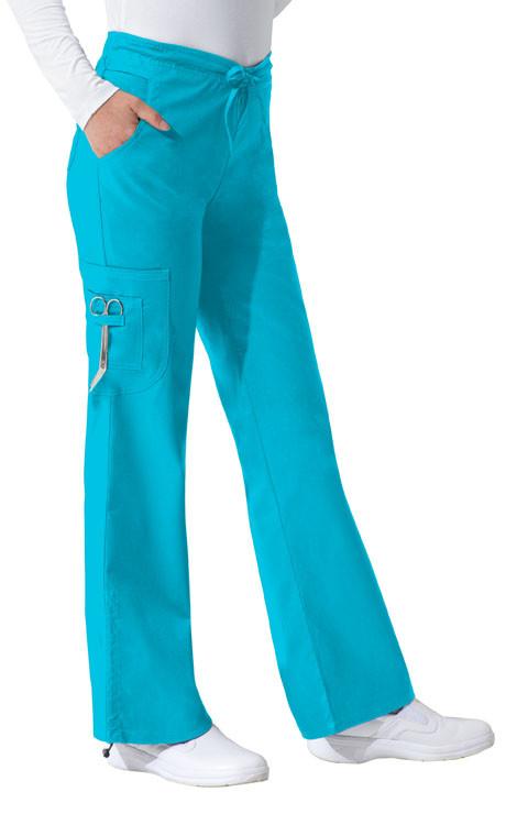 Dickies Medical 82002 Pantalon Tipo Cargo con Jareta para Mujer