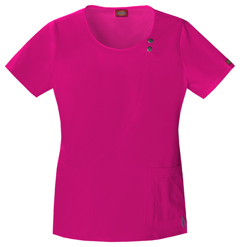 Dickies Medical 82838 Filipina Youtility para Mujer Cuello Redondo