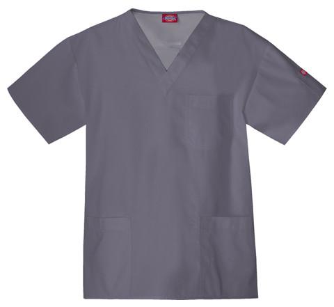 Dickies Medical 816406 Filipina de Hombres cuello V de estaño