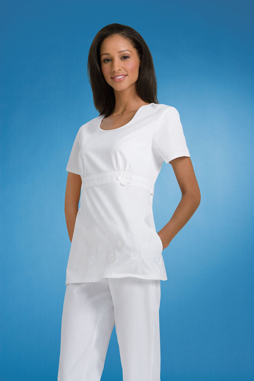 Cherokee Medical 2990 Filipina con Cuello Redondo Mujer