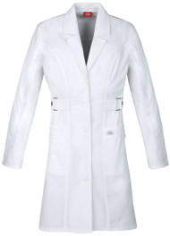 Dickies Medical 82410 Bata de Laboratorio Manga Larga para Mujer