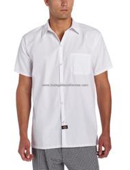 Dickies Chef DC125 Camisa para Chef con Bolsa