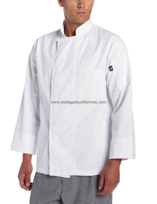 Dickies Chef DC118 Filipina para Chef 8 Botones