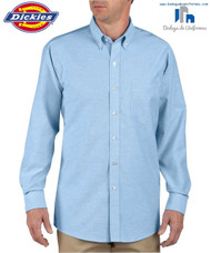 Dickies SS36 Camisa Oxford Manga Larga