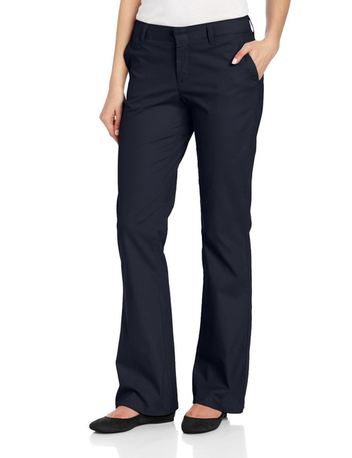 Dickies FP121 Pantalones de Mujer tipo Dockers Stretch 97% Algodon