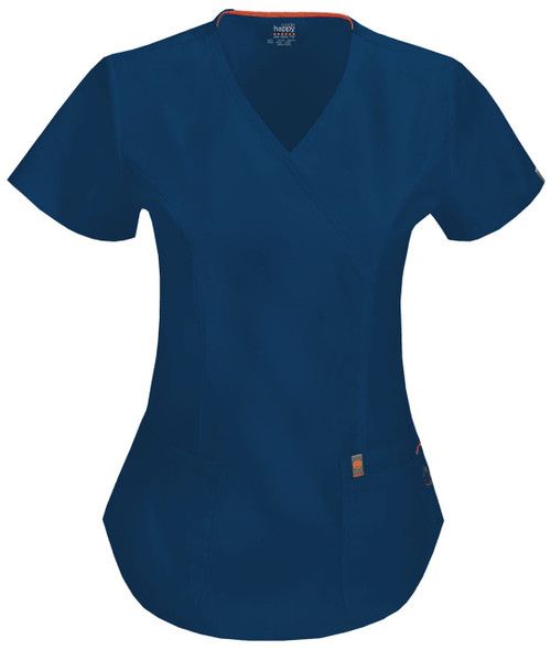 CODE HAPPY 46601AB-NVCH FILIPINA - UNIFORMES MEDICOS