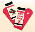 Hope, Fight, Cure Knee High Socks