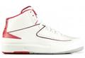 Nike Air Jordan 2 - White/Varsity Red #385475-102