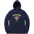 Supreme Centerpiece Hooded Sweatshirt - Navy