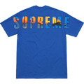 Supreme Crash Tee - Royal