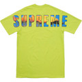 Supreme Crash Tee - Lime