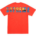 Supreme Crash Tee - Bright Orange