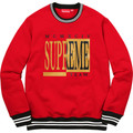 Supreme Team Crewneck - Red