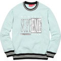 Supreme Team Crewneck - Ice Blue