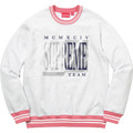 Supreme Team Crewneck - Ash Grey