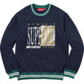 Supreme Team Crewneck - Navy