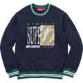 Supreme Team Crewneck - Navy