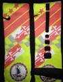 Nike Elite Cushion Basketball Crew Socks - KD V DMV Custom