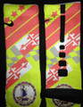 Nike Elite Cushion Basketball Crew Socks - KD V DMV Custom