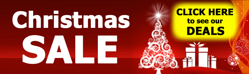 CHRISTMAS SALE - click here to see the deals