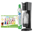 SodaStream Starter Kit GENESIS |1017511119| Black with chrome trim