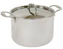 Healthy Bear 5-ply stainless steel Soup Pot |BC5S24CPS| 24cm